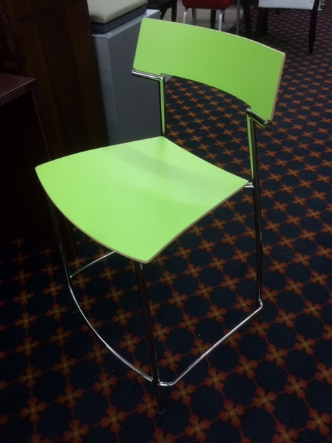 VDS Int'l Counter Stools (Lime Green)