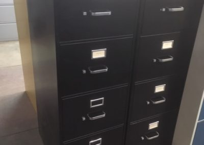 11. Hon Legal-Sized Vertical File Cabinets (2 Available)