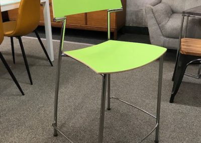 Green VDS Counter Stool