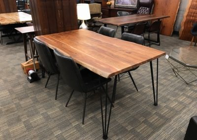 Live Edge Style Dining Table 2