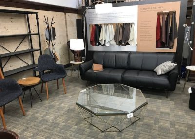 Natuzzi Leather Sofa and Accent Chairs