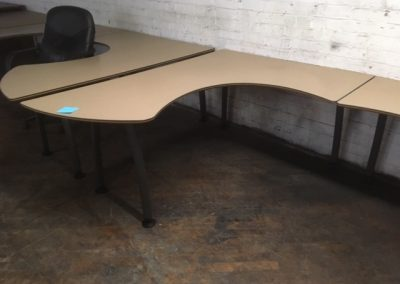 15. L-Shaped Table Desk
