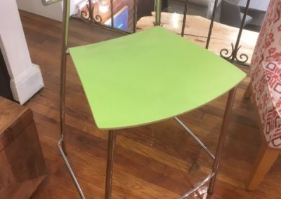 19. VDS Green Counter Stools